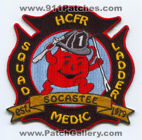 Horry County Fire Rescue Department Station 1 Patch South Carolina SC