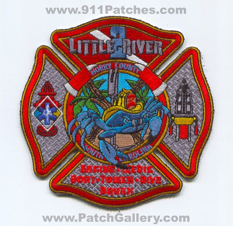 Horry County Fire Rescue Department Station 2 Patch South Carolina SC