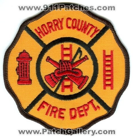 Horry County Fire Department Patch South Carolina SC