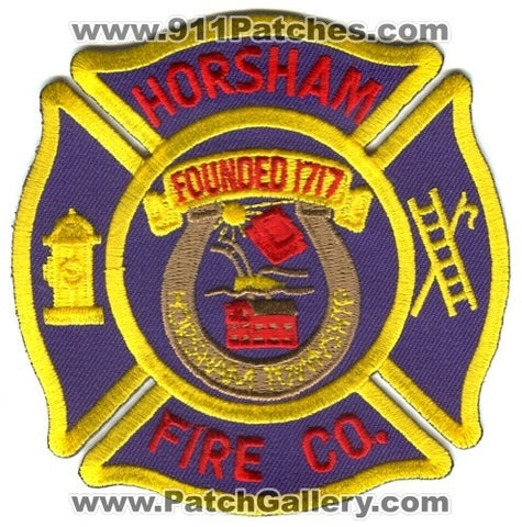 Horsham Fire Company Patch Pennsylvania PA