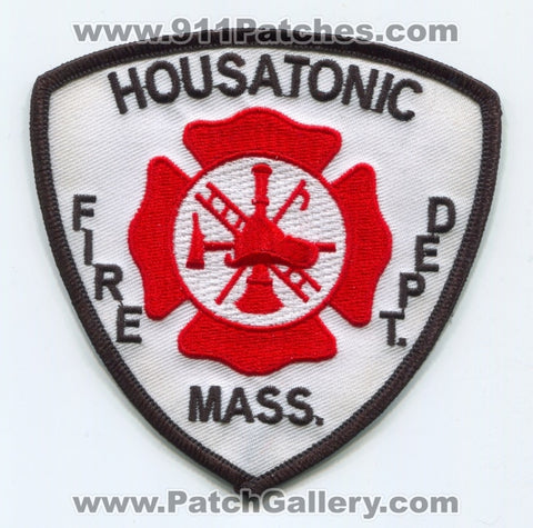 Housatonic Fire Department Patch Massachusetts MA