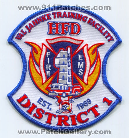 Houston Fire Department District 1 Patch Texas TX