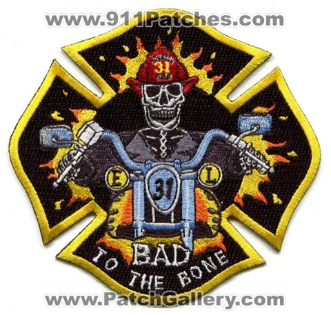 Houston Fire Department Station 31 Patch Texas TX