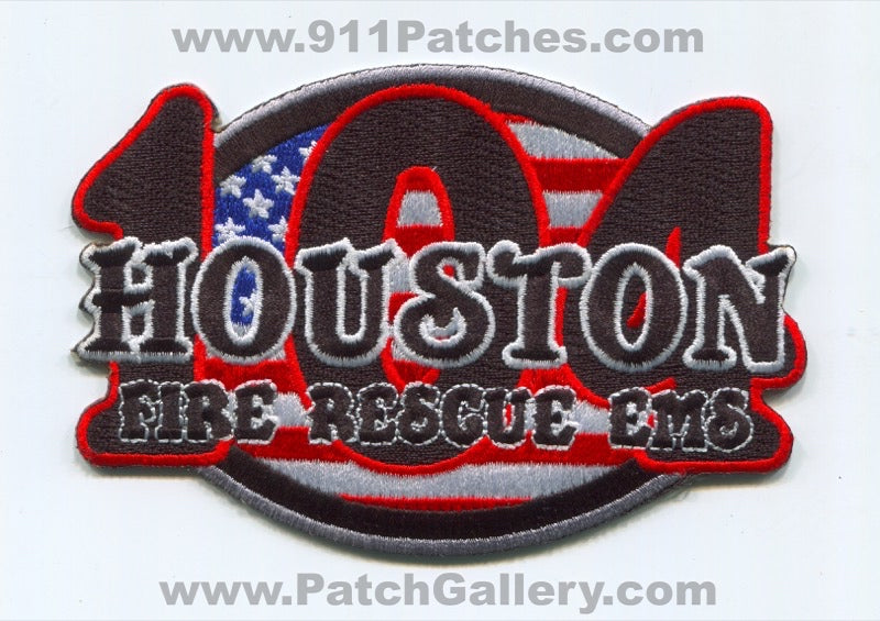 Houston Fire Department Station 104 Patch Texas TX