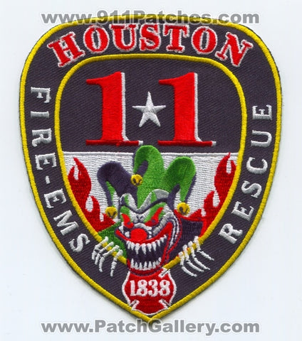 Houston Fire Department Station 11 Patch Texas TX