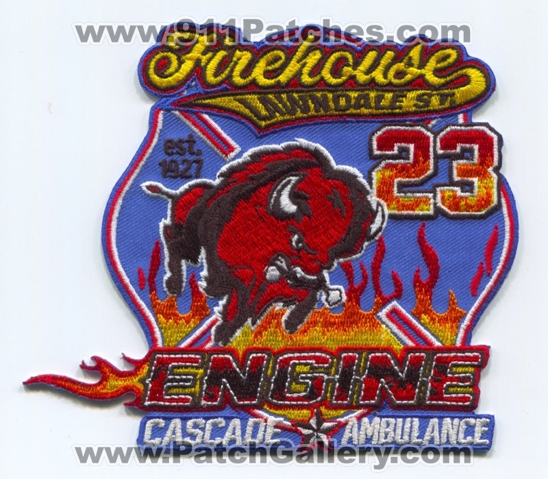 Houston Fire Department Station 23 Patch Texas TX