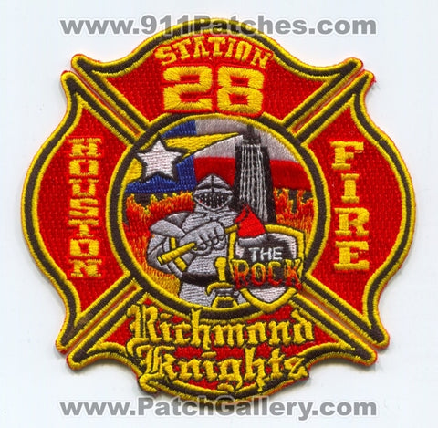 Houston Fire Department Station 28 Patch Texas TX
