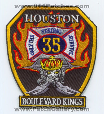 Houston Fire Department Station 35 Patch Texas TX