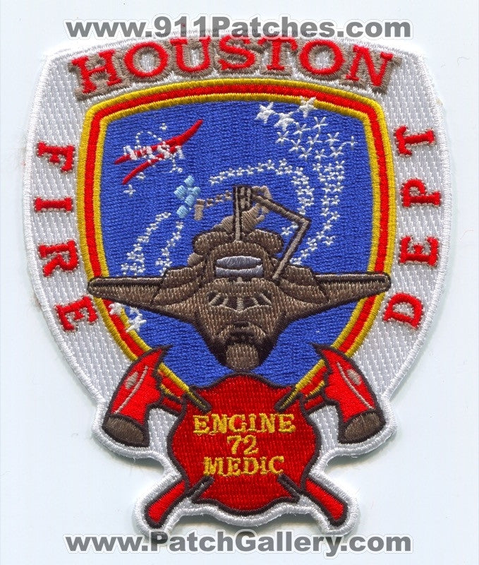 Houston Fire Department Station 72 Patch Texas TX