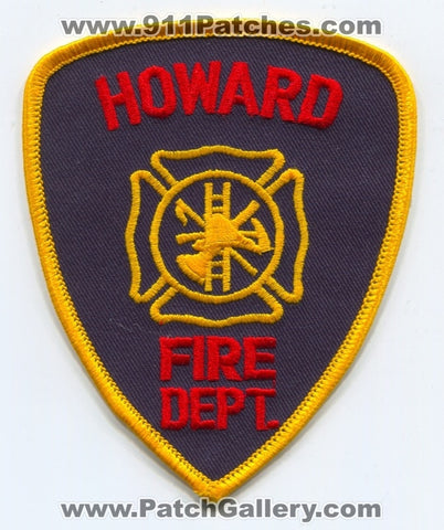 Howard Fire Department Patch Unknown State