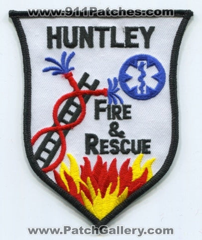 Huntley Fire and Rescue Department Patch Illinois IL