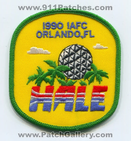 International Association of Fire Chiefs IAFC 1990 Orlando Patch Florida FL