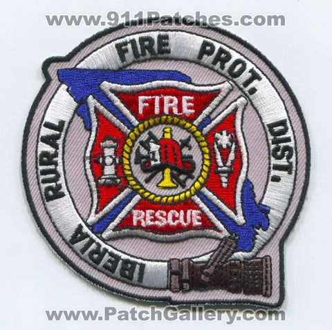 Iberia Rural Fire Protection District Patch Missouri MO