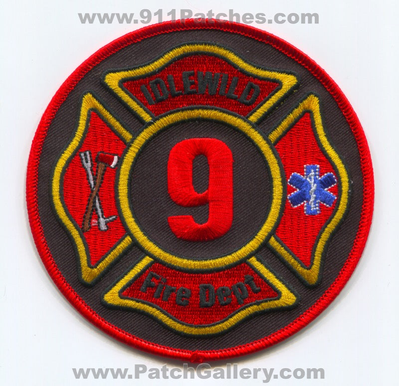 Idlewild Fire Department 9 Patch North Carolina NC