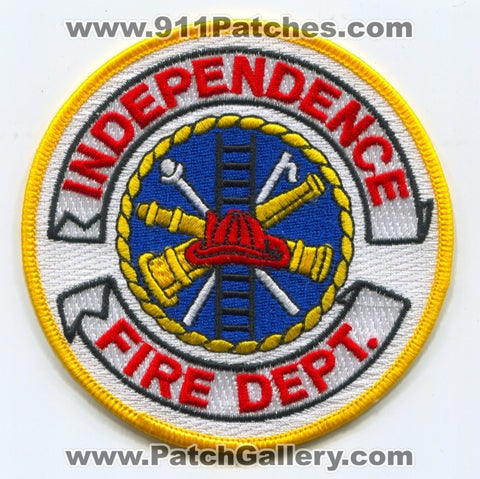 Independence Fire Department Patch Unknown State