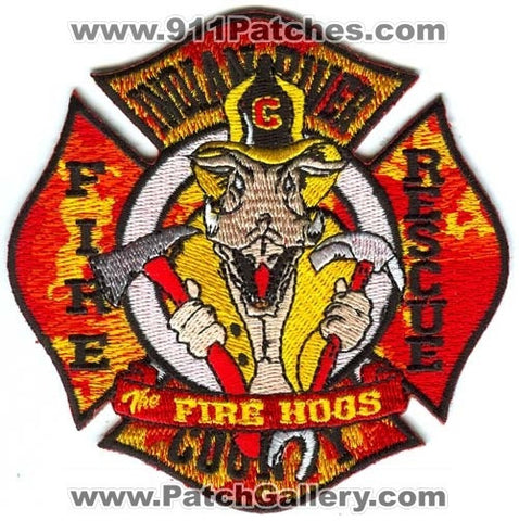 Indian River County Fire Rescue Department Patch Florida FL