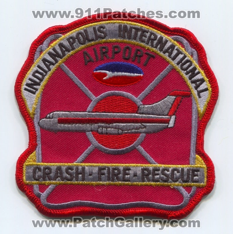 Indianapolis International Airport Crash Fire Rescue CFR Department Patch Indiana IN