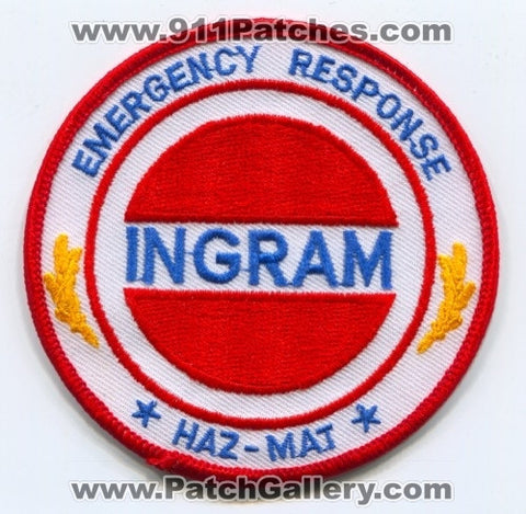 Ingram Barge Company Emergency Response Haz-Mat Patch Tennessee TN