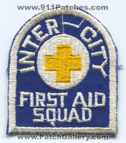 Inter City First Aid Squad EMS Patch Ohio OH