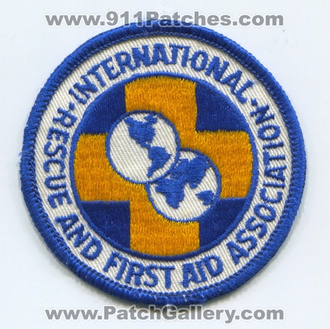 International Rescue and First Aid Association EMS Patch New Jersey NJ