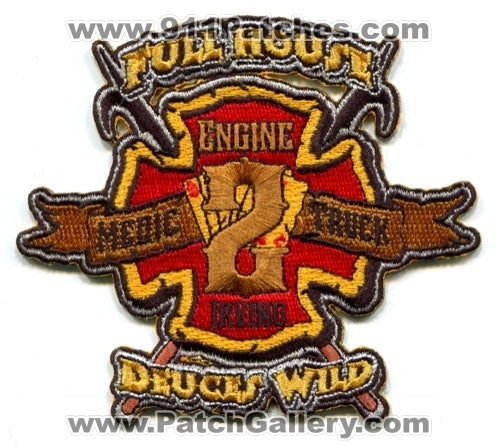 Irving Fire Department Station 2 Patch Texas TX