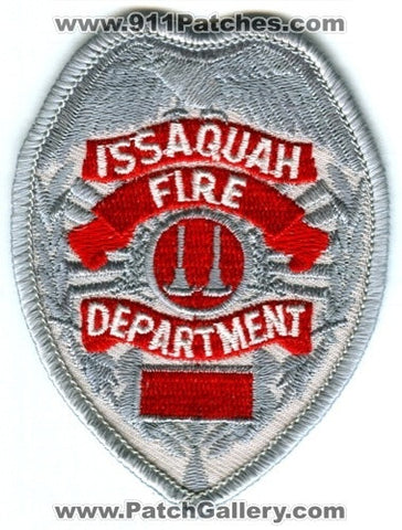 Issaquah Fire Department Captain Patch Washington WA