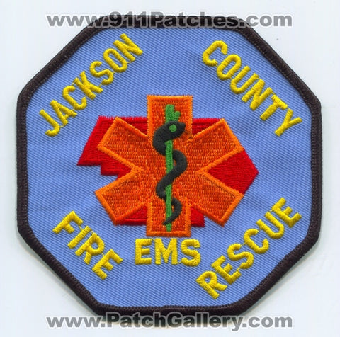 Jackson County Fire Rescue EMS Department Patch Oregon OR
