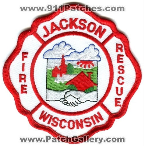 Jackson Fire Rescue Department Patch Wisconsin WI