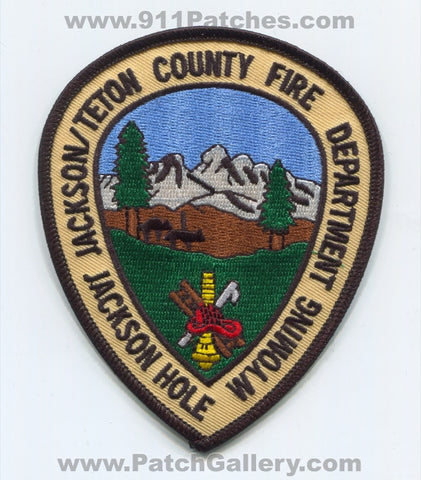 Jackson Teton County Fire Department Jackson Hole Patch Wyoming WY