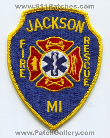 Jackson Fire Rescue Department Patch Michigan MI