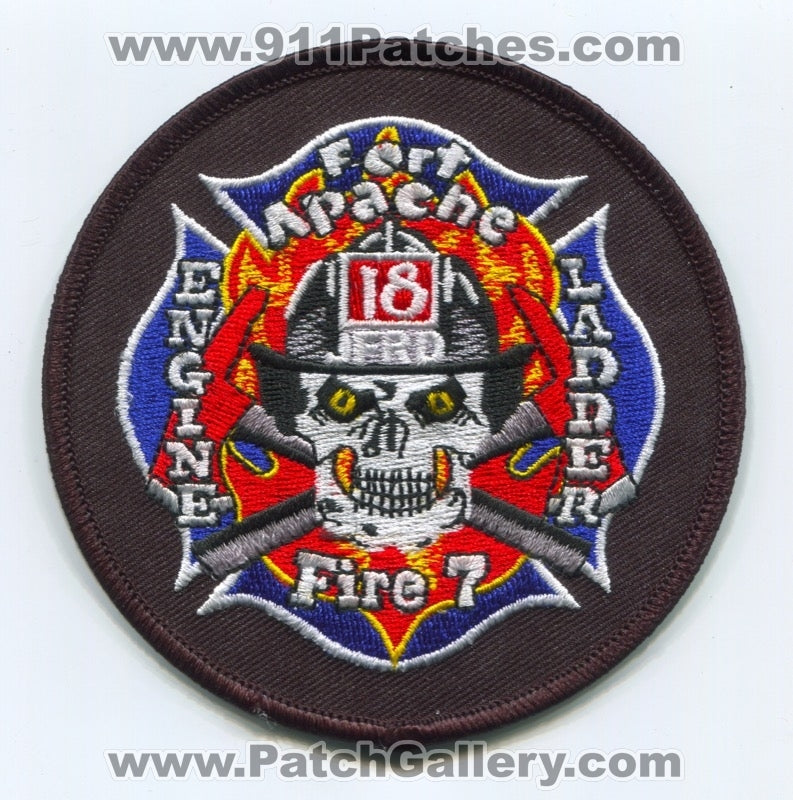 Jacksonville Fire and Rescue Department Station 18 Patch Florida FL