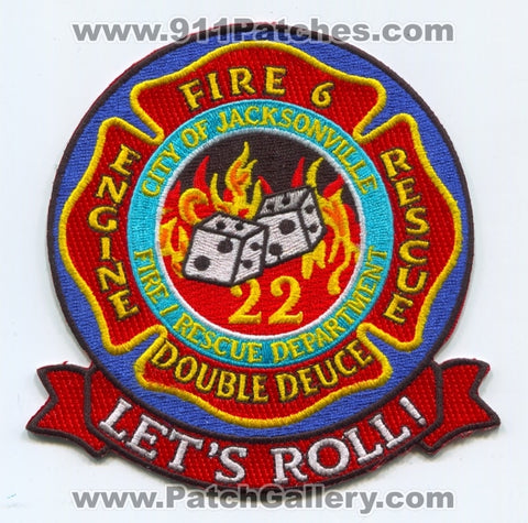 Jacksonville Fire and Rescue Department Station 22 Patch Florida FL