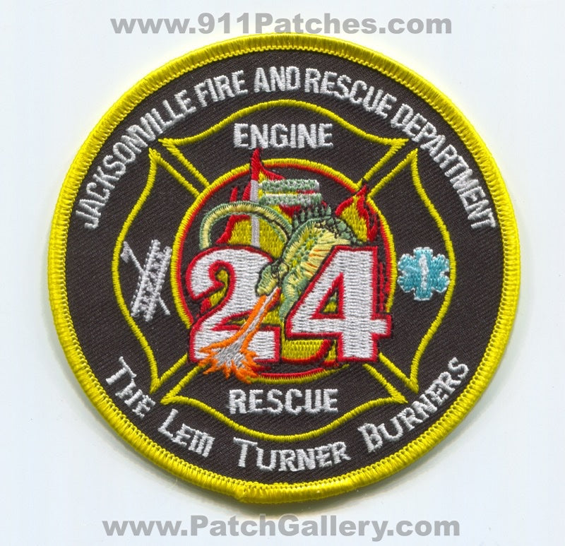 Jacksonville Fire and Rescue Department Station 24 Patch Florida FL