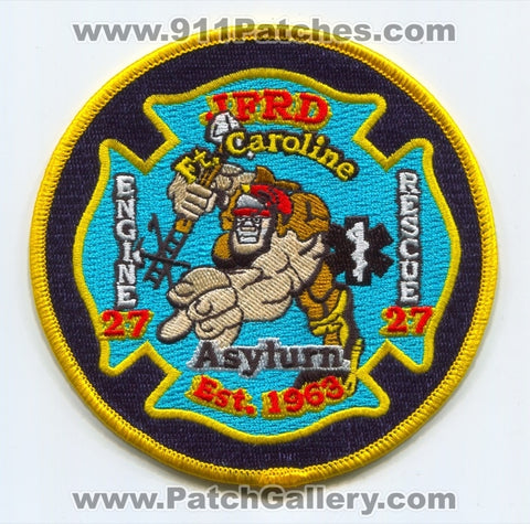 Jacksonville Fire and Rescue Department Station 27 Patch Florida FL