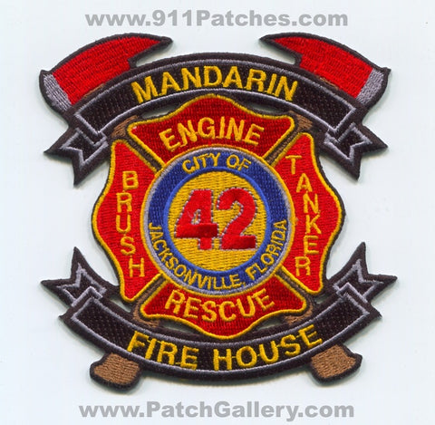 Jacksonville Fire and Rescue Department Station 42 Patch Florida FL