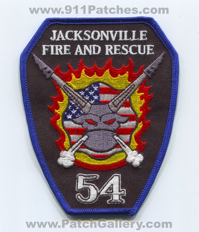 Jacksonville Fire and Rescue Department Station 54 Patch Florida FL