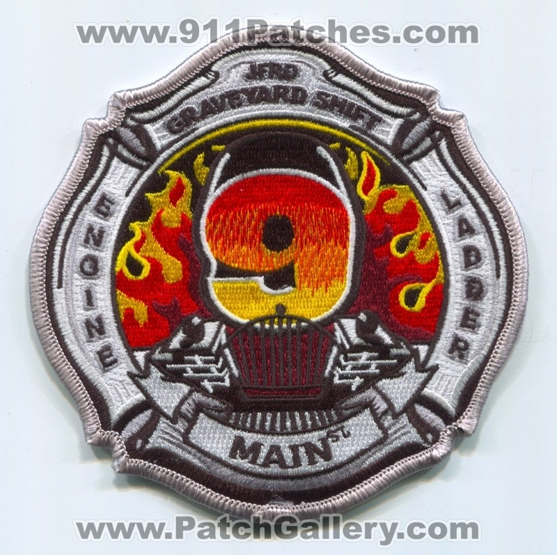 Jacksonville Fire and Rescue Department Station 9 Patch Florida FL