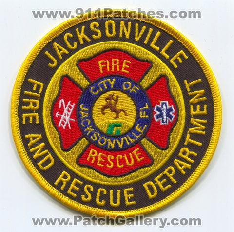 Jacksonville Fire and Rescue Department Patch Florida FL