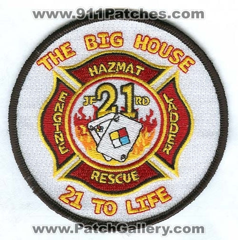 Jacksonville Fire and Rescue Department Station 21 Patch Florida FL
