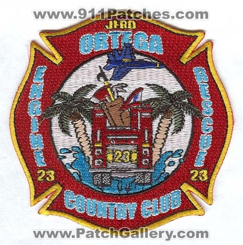 Jacksonville Fire and Rescue Department Station 23 Patch Florida FL
