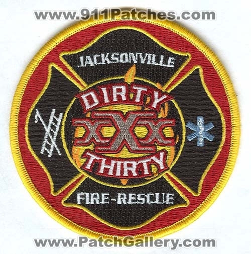 Jacksonville Fire and Rescue Department Station 30 Patch Florida FL