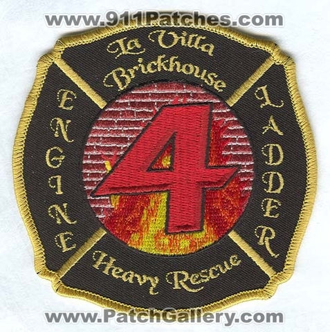 Jacksonville Fire and Rescue Department Station 4 Patch Florida FL
