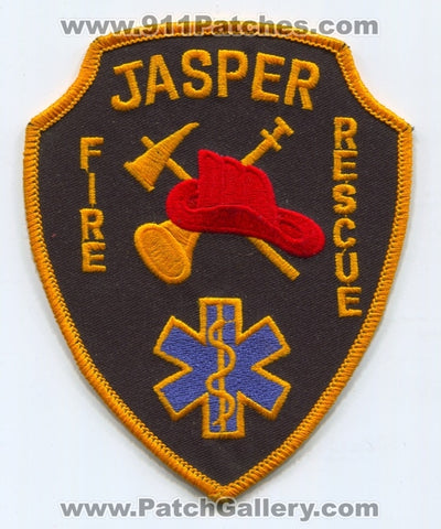 Jasper Fire Rescue Department Patch Florida FL