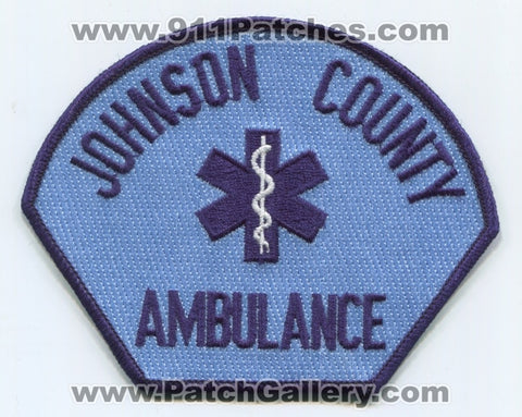 Johnson County Ambulance Emergency Medical Services EMS Patch Iowa IA