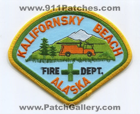 Kalifornsky Beach Fire Department Patch Alaska AK