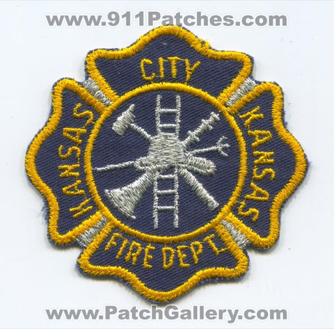 Kansas City Fire Department Patch Kansas KS