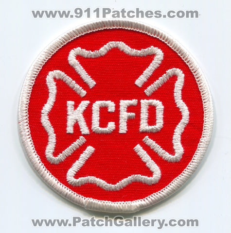 Kansas City Fire Department Patch Missouri MO