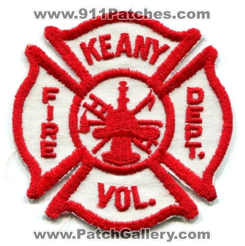 Keany Volunteer Fire Department Patch Unknown State