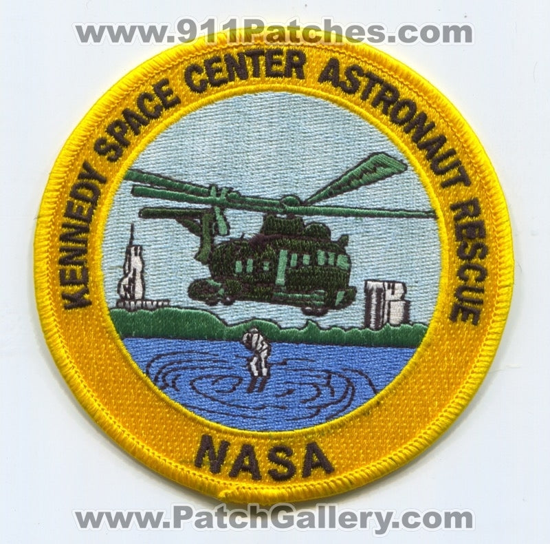 Kennedy Space Center Astronaut Rescue NASA Patch Florida FL