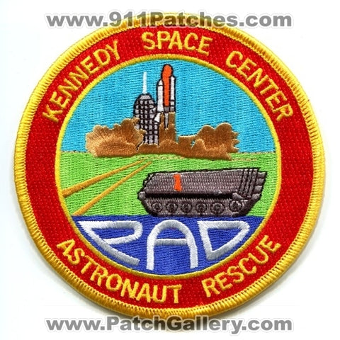Kennedy Space Center Astronaut Rescue Pad NASA Patch Florida FL